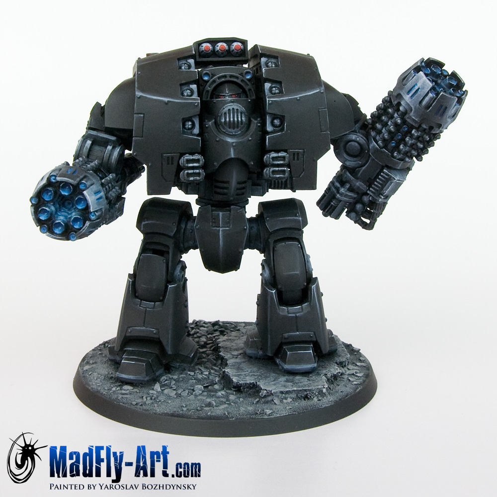 Leviathan Dreadnought with Grav Flux Bombards