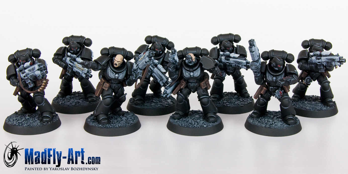 Iron Hands Primaris Intercessors