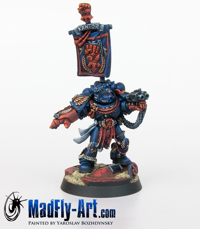 Crimson Fists Chapter Master Pedro Kantor