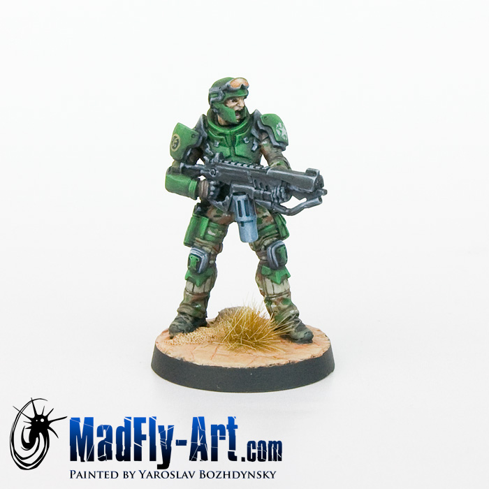 Marauders, 5307th Ranger Unit (Rifle, Heavy Flamethrower)