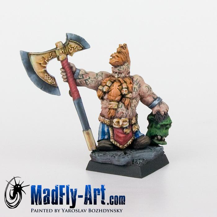 Dwarf Wild Chieftain #2