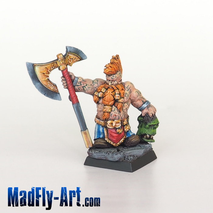 Dwarf Wild Chieftain #2