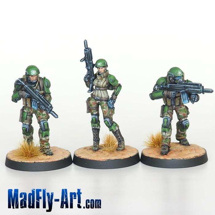 USAriadna Grunts, Line Rangers Regiment