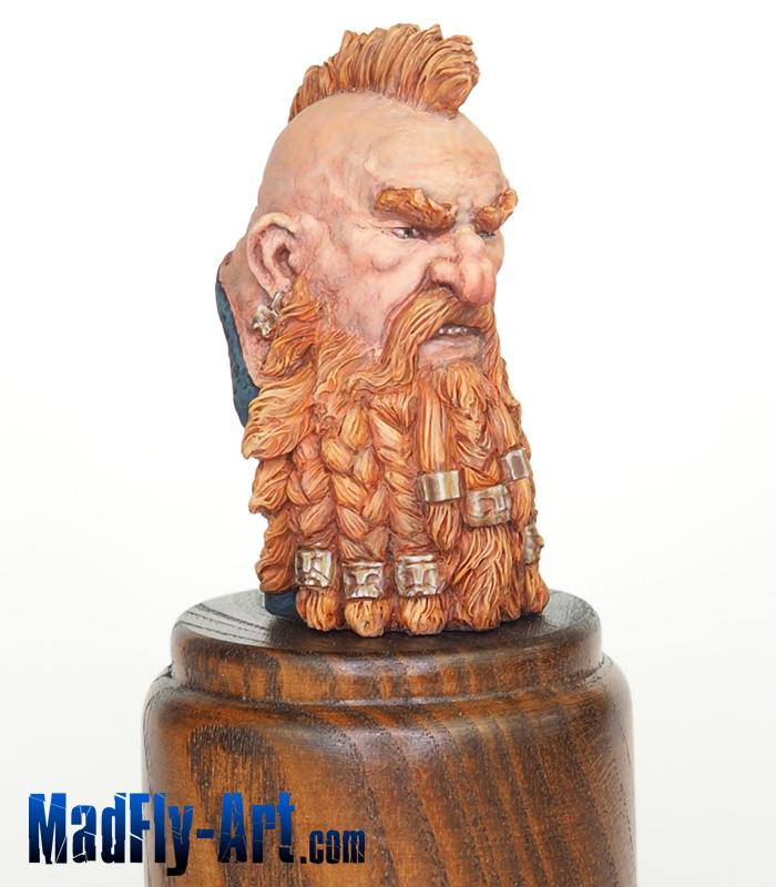 Asgrim Dwarf mini Bust