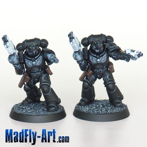 Iron Hands Primaris Intercessors Sergeants
