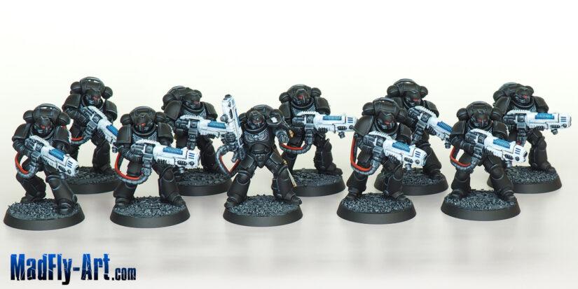 Iron Hands Primaris Hellblasters