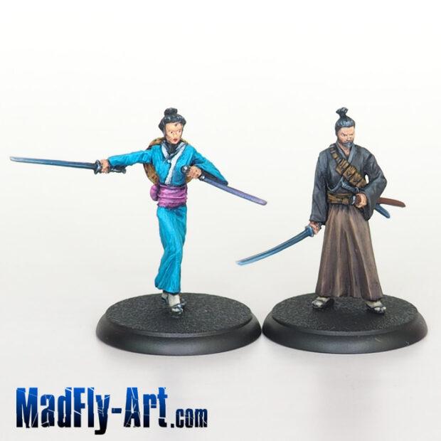 Wandering Samurai Hero Pack